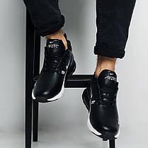 Зимние мужские кроссовки Nike Air Max 270 Winter Black White топ реплика, фото 2