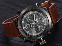 Мужские наручные часы AMST + портмоне в подарок амст