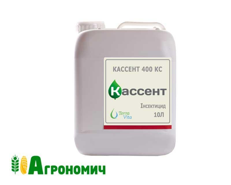 Інсектицид Кассент 400, КС* -10 л