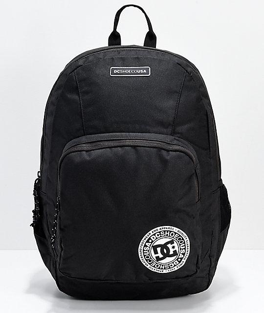 Рюкзак Dc Shoes - The Locker Black Backpack (черный)