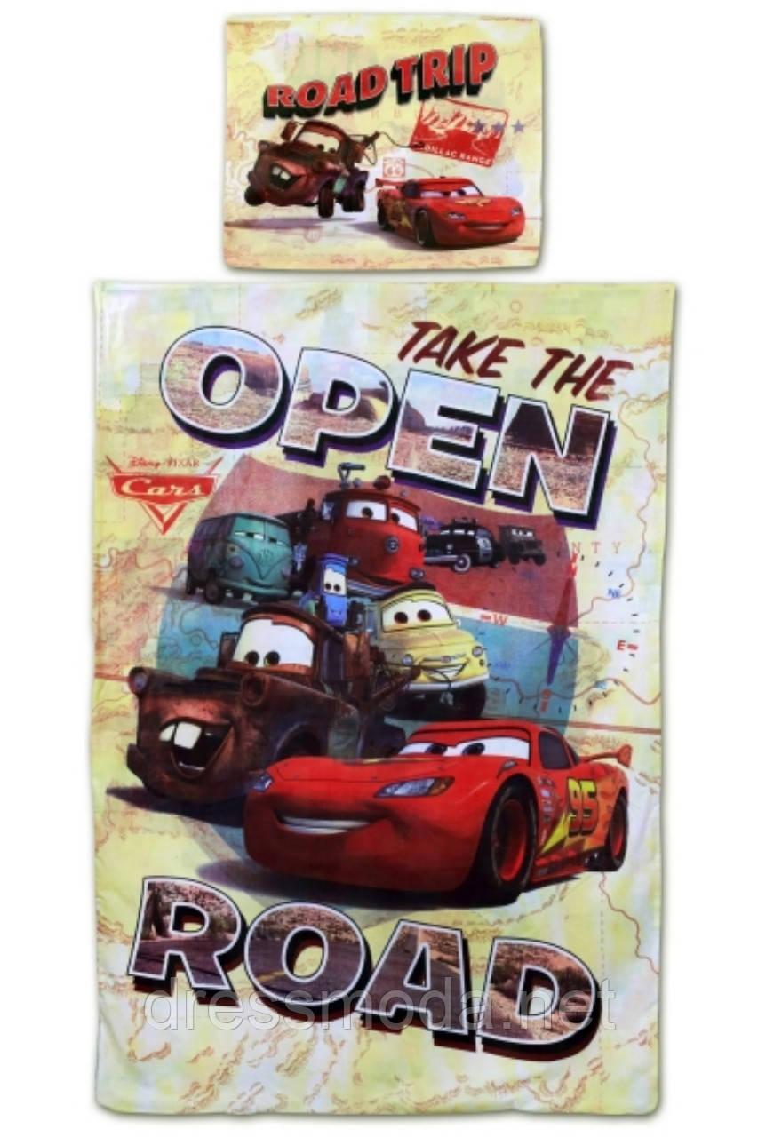 Комплект постільної білизни для хлопчиків від Disney Cars