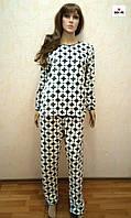 Пижама женская махровая теплая 40-54 р.