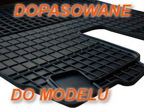 Резиновые коврики AUDI A6 S6 2011- серые с лого, фото 3