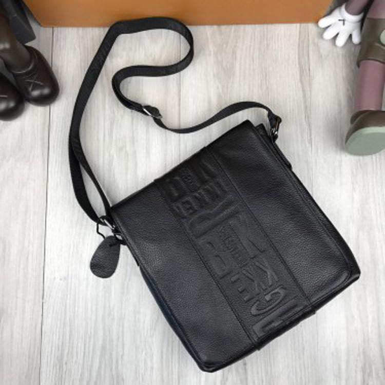 Фирменная женская сумка-планшетка Bikkembergs черная кожа PU сумка планшет через плечо Биккемберг реплика