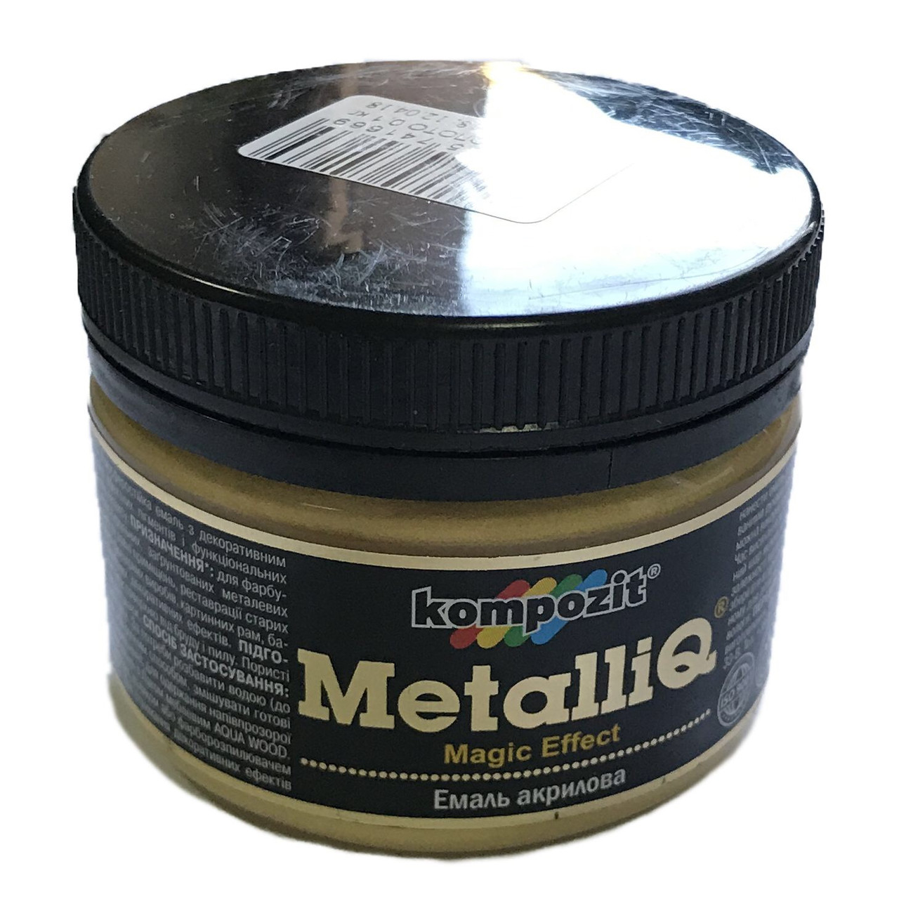 Емаль акрилова Kompozit MetalliQ 0,1кг Золото