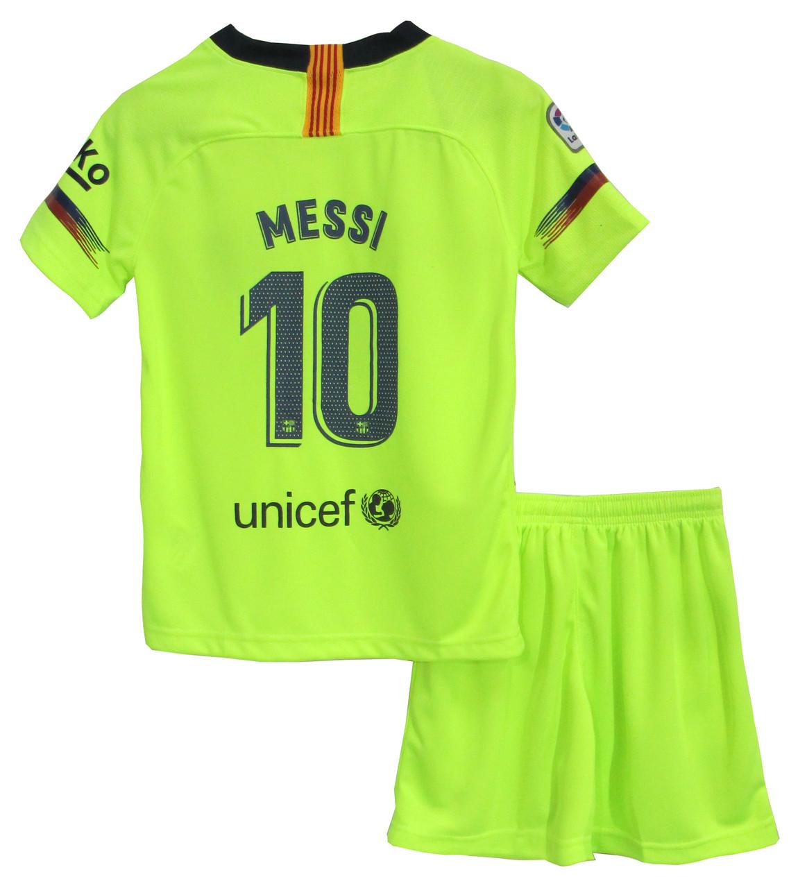 Форма Барселона гостьова 2018-2019 Мессі (Barcelona Messi)
