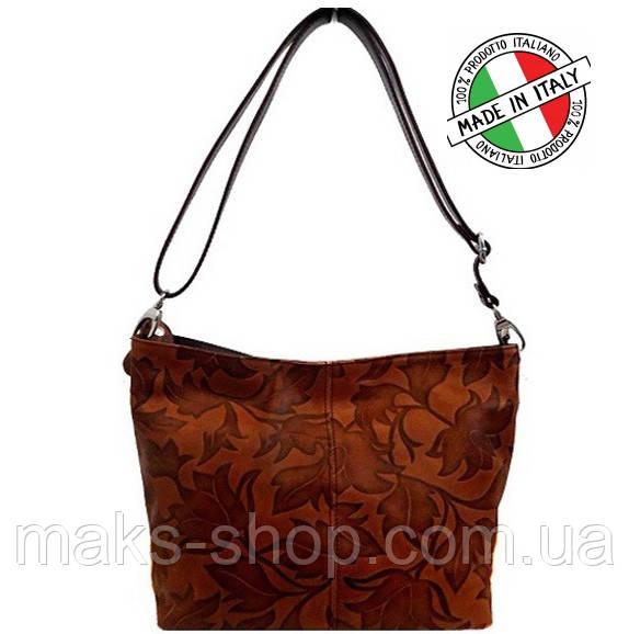 5ffb9f4a8e6d Женская сумка Bottega Carele BC216 из натуральной кожи Итальянская - Maks  Shop- надежный и перспективный
