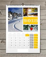 Календар настінний перекидний - друк, виготовлення