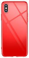 Чохол для смартфона T-PHOX iPhone Xs 5.8 - Crystal (Червоний)