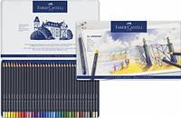 Набор цветных карандашей Faber Castell Goldfaber 36 цветов в металлической коробке (114736)