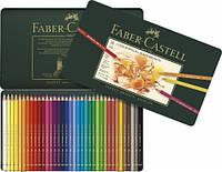 Набор цветных карандашей Faber Castell POLYCHROMOS 36 цветов в металлической коробке (110036)