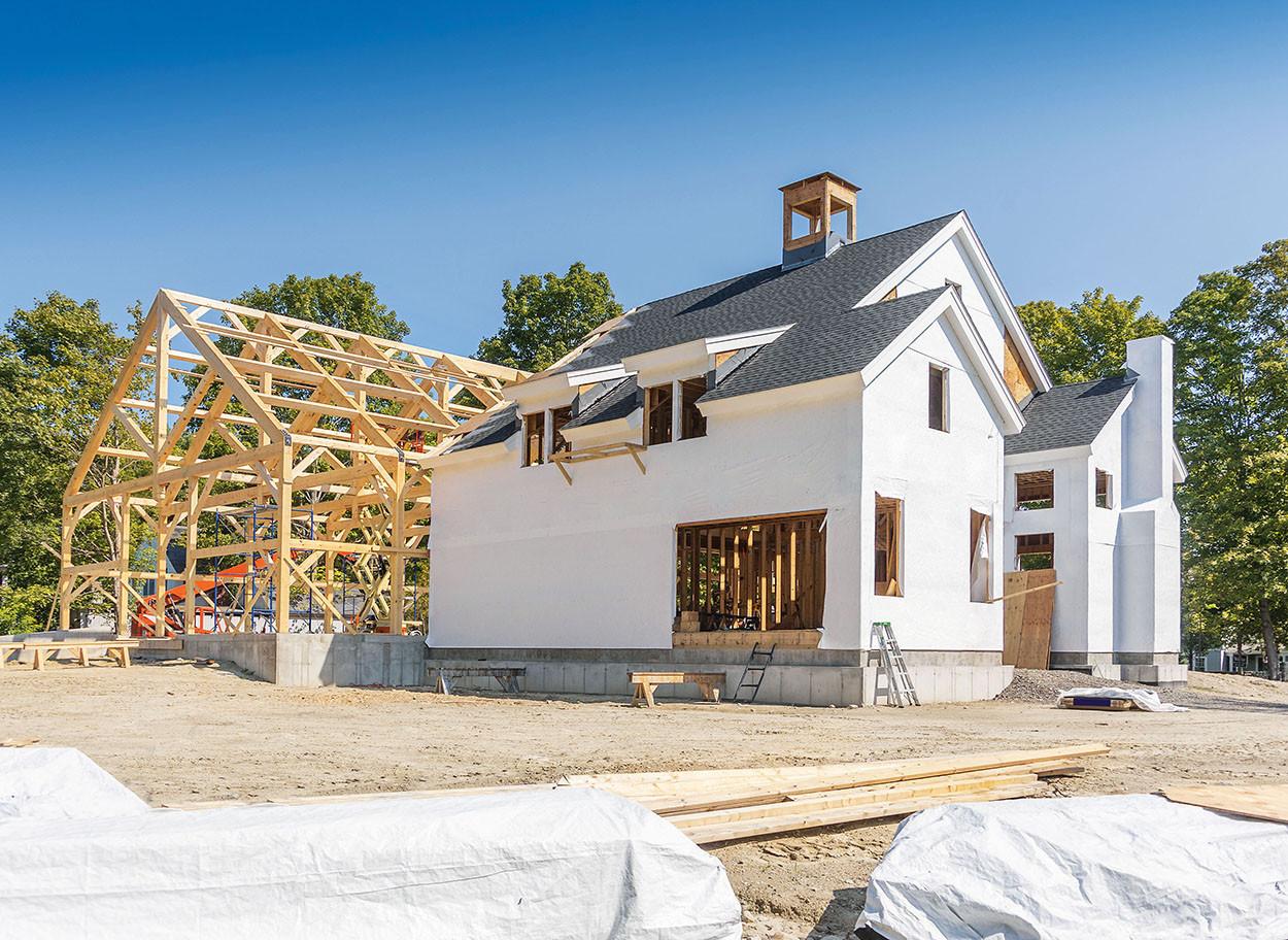 Строительство каркасных  домов и сооружений