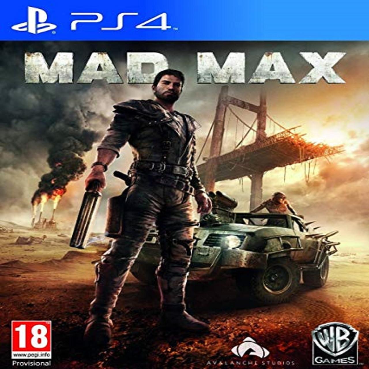 Mad Max RUS PS4 (Б/В)