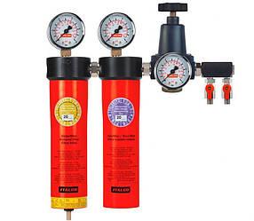 Блок подготовки воздуха профессиональный (2 ступени) Italco AC6002