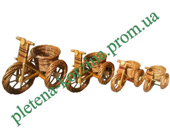 """Цветочник """"велосипед"""" (большой размер, Длина 58см) Арт.366.1, фото 2"""