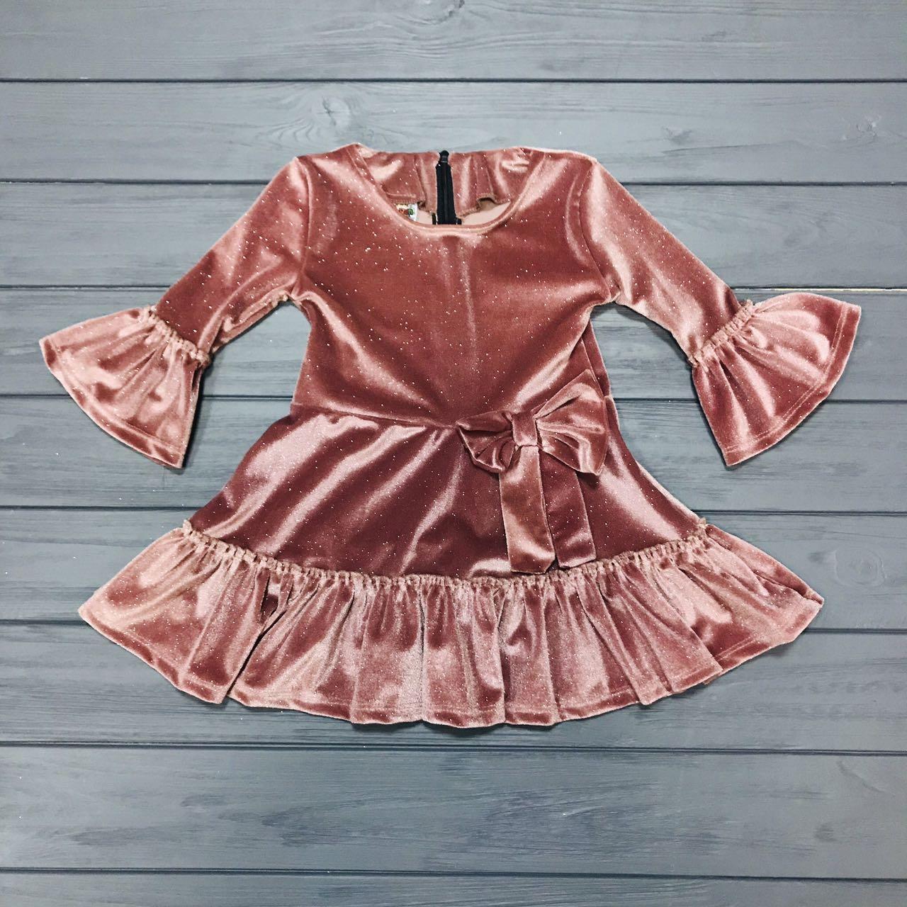 06dffae7822e1f2 Детская одежда оптом Платье нарядное для девочек оптом р.2-6 лет - Детская