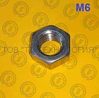 Гайка шестигранна ГОСТ 5915-70, DIN 934. М6 БЖ, фото 1