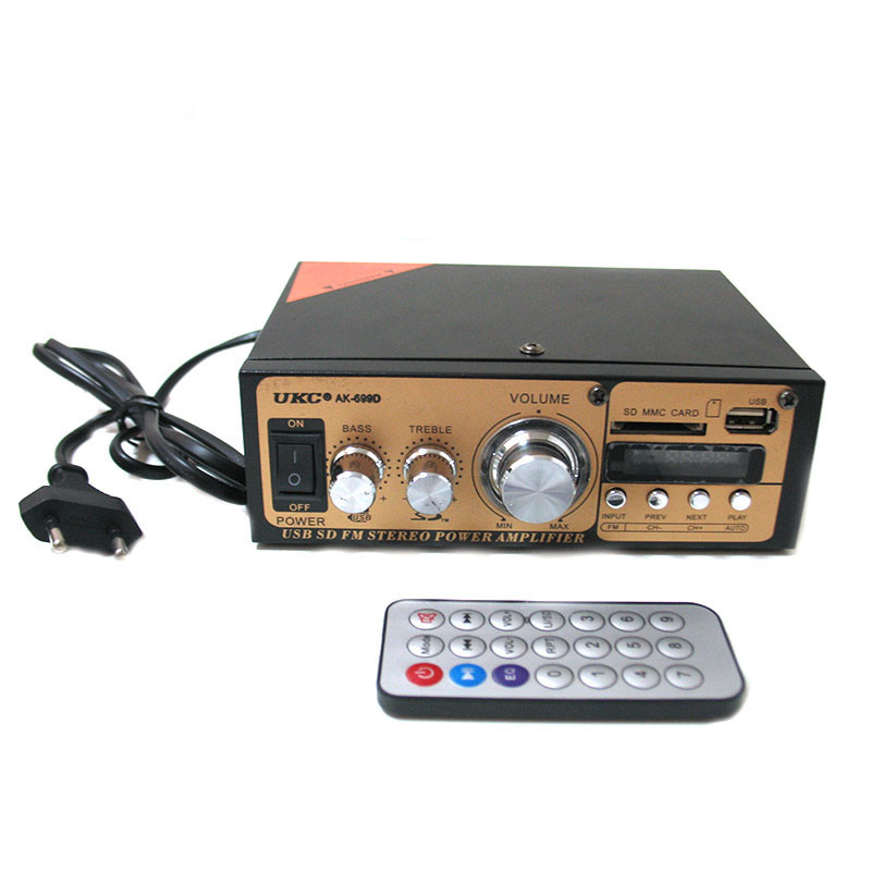 Усилитель звука UKC AK-699D с FM-радио