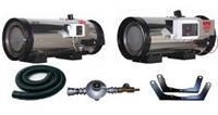 Нагрівач газовий ПРОПАН BH50, 50kW (в комплекті з шлангом, регулятором тиску та кріпленням)