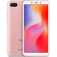 Смартфон Xiaomi Redmi 6 3/32Gb Rose Gold Global firmware (CN) 12 мес