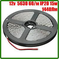 Светодиодная лента 12В 5630 (60LED/м) IP20