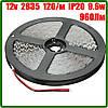 Светодиодная лента 12В 2835 (120LED/м) IP20