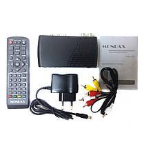 ТВ ресивер тюнер DVB-T2 LCD Mondax с поддержкой wi-fi адаптера, фото 2