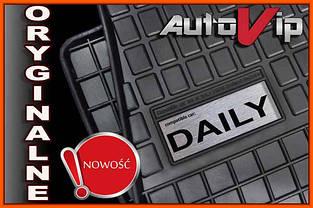 Резиновые коврики IVECO DAILY 1999-  с логотипом