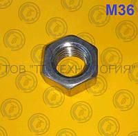 Гайка шестигранна ГОСТ 5915-70, DIN 934. М36 БЖ, фото 1