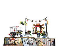 """Конструктор JVToy аналог LEGO Ninjago 70607 """"Ограбление киоска в Ниндзяго- Сити"""" 272 деталей"""