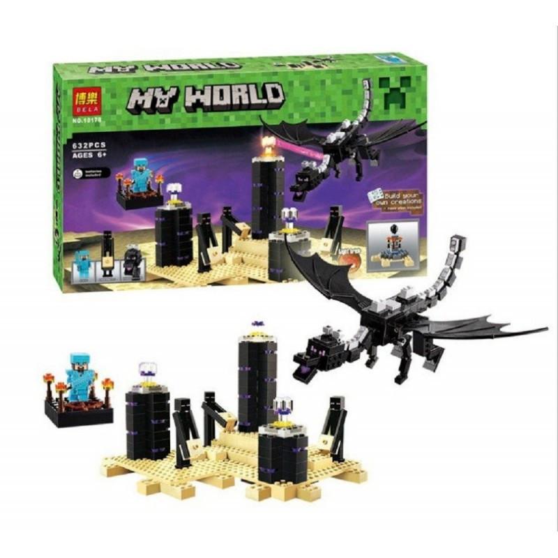 """Конструткор """"Дракон края"""" Minecraft Bela 10178 632 деталей"""