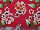 Бенгалин рисунок цветочная сказка, красный, фото 2