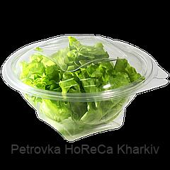 Салатник пластиковый с крышкой 750мл  FT718-750 1уп/25шт