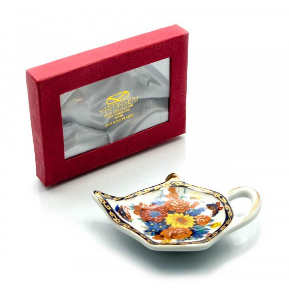 Подставка для чайных пакетиков Цветы