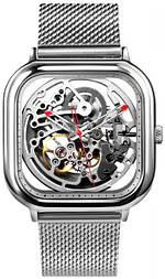 Мужские часы Xiaomi CIGA Design Hollowed-out Mechanical Watch Silver (Z011-SISI-13)