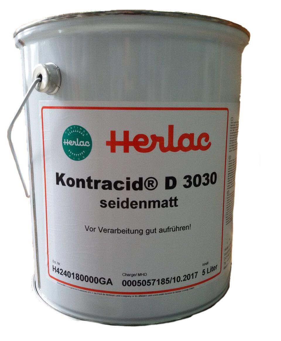 Лак меблевий Herlac Контрацид D3030 5л напівматовий