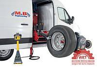 Мобильный шиномонтажный станок для грузовых авто M&B Engineering DIDO SERVICE MOBILE 26 MV+WB 290