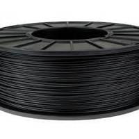 Пластик в котушці ABS Flex 1,75 Чорний, MonoFilament