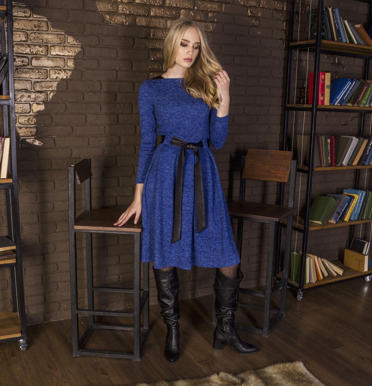 Платье женское электрик, арт.1031