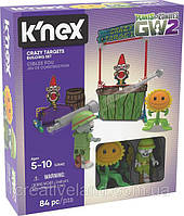 Игра Растения против Зомби Plants vs. Zombies - Jetpack Zombie Attack K'NEX