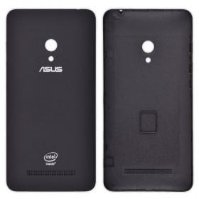 Задняя крышка для смартфона Asus A501CG Zenfone 5 с боковой кнопкой, черная