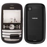 Корпус для смартфону Nokia Asha 201 чорний