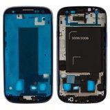 Рамка крепления дисплея для смартфона Samsung I9300i Galaxy S3 Duos синяя