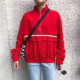 Женский анорак с полосками, фото 2