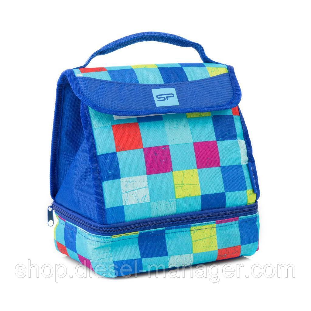 Термосумка для ланча Spokey Lunch Box Blue 22х17х25 см Синий (s0425)