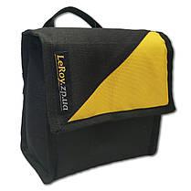 Сумка для катушки LeRoy Reel Bag Жёлто-чёрный, фото 2