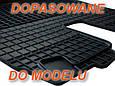 Резиновые коврики AUDI A6 S6 2006- серые с лого, фото 3