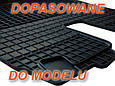 Резиновые коврики OPEL ZAFIRA A 7s 1998-  с лого, фото 3