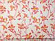 Коттон стрейчевый рисунок цветочная нежность, коралловый, фото 2