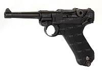 Пистолет пневматический KWC Luger P-08 Blowback